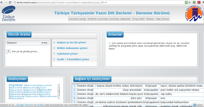 """""""TÜRKİYE TÜRKÇESİNİN YAZIN DİLİ DERLEMİ"""" PROJESİ"""