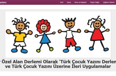 """TÜBİTAK-SOBAG – 112K479 Bir Özel Alan Derlemi Olarak """"Türk Çocuk Yazını Derlemi"""" ve Türk Çocuk Yazını Üzerine İleri Uygulamalar Projesi"""""""