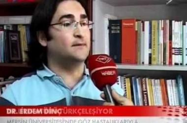 GÖZBİLİM TERİMLERİ PROJESİ TRT HABER'DE