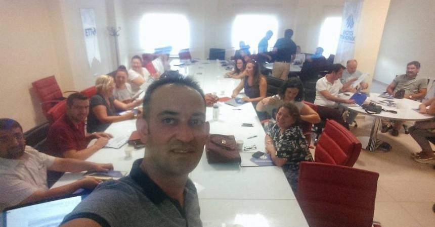 Erciyes Üniversitesi TTO'da – Tübitak – Sobag Uygulamalı Proje Yazma Eğitimi