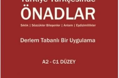 Yabancılar İçin Türkçe – 2 Türkiye Türkçesinde Önadlar